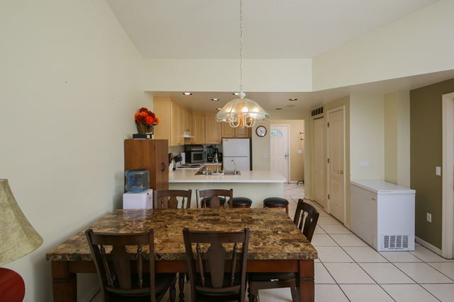 Dining Area - Villa for rent at 3401 54th Drive West Unit F203, Bradenton, FL 34210 - MLS Number is 340154TH203