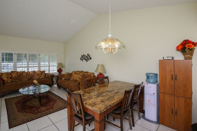 Dining Area and Living Area - Villa for rent at 3401 54th Drive West Unit F203, Bradenton, FL 34210 - MLS Number is 340154TH203