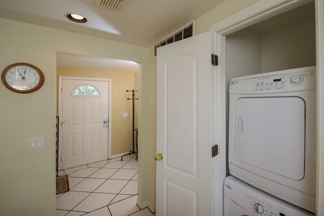 Laundry Stacked Washer and Dryer - Villa for rent at 3401 54th Drive West Unit F203, Bradenton, FL 34210 - MLS Number is 340154TH203