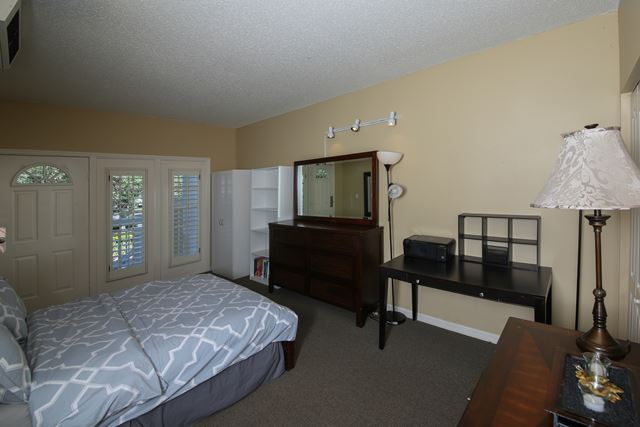 Guest Bedroom with private entrance - Villa for rent at 3401 54th Drive West Unit F203, Bradenton, FL 34210 - MLS Number is 340154TH203