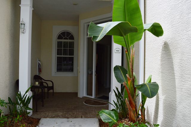 Front Door Entrance - Townhouse for rent at 3409 54th Drive West, H103, Bradenton, FL 34210 - MLS Number is 340954TH103