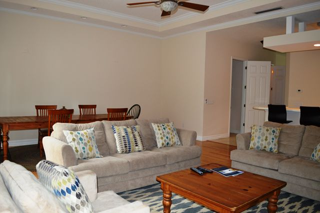 Open Living Room / Dining Room - Townhouse for rent at 3409 54th Drive West, H103, Bradenton, FL 34210 - MLS Number is 340954TH103
