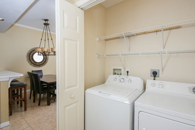 Laundry - Villa for rent at 3604 54th Drive West, K102, Bradenton, FL 34210 - MLS Number is 360454TH102
