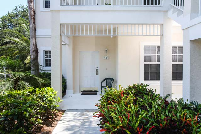 Front Entrance - Villa for rent at 3604 54th Drive West, K104, Bradenton, FL 34210 - MLS Number is 360454TH104