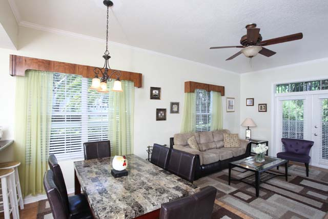 Dining Room - Villa for rent at 3604 54th Drive West, K104, Bradenton, FL 34210 - MLS Number is 360454TH104