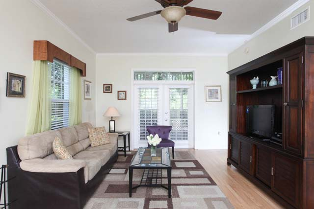 Living Room - Villa for rent at 3604 54th Drive West, K104, Bradenton, FL 34210 - MLS Number is 360454TH104
