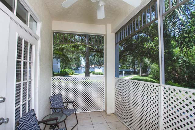Screened Lanai - Villa for rent at 3604 54th Drive West, K104, Bradenton, FL 34210 - MLS Number is 360454TH104