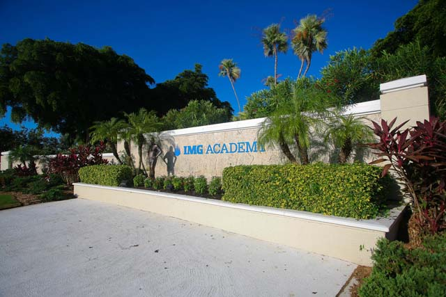 IMG Academy Sign - Villa for rent at 3604 54th Drive West, K104, Bradenton, FL 34210 - MLS Number is 360454TH104