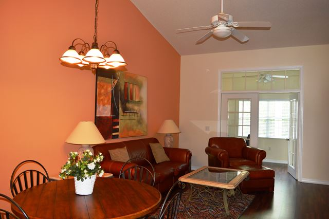 Dining and Living Great Room - Villa for rent at 3605 54th Drive West, L202, Bradenton, FL 34242 - MLS Number is 360554TH202