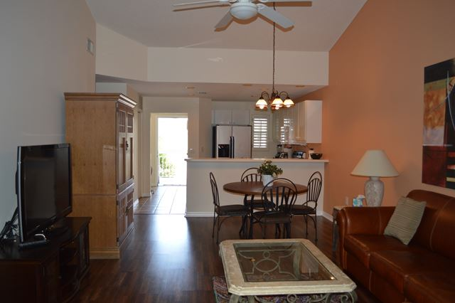 Living and Dining Great Room - Villa for rent at 3605 54th Drive West, L202, Bradenton, FL 34242 - MLS Number is 360554TH202