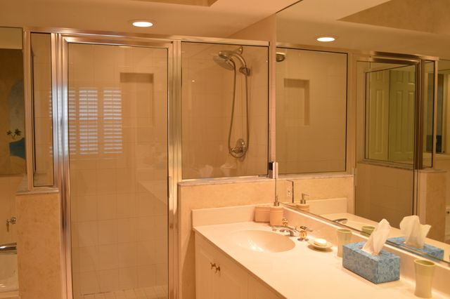 Master Bathroom - Villa for rent at 3608 54th Drive West, J203, Bradenton, FL 34210 - MLS Number is 360854TH203