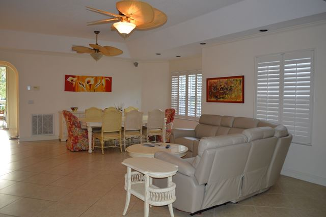 Living Room / Dining Room - Villa for rent at 3608 54th Drive West, J203, Bradenton, FL 34210 - MLS Number is 360854TH203