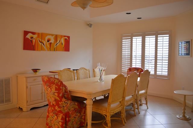 Dining Area - Villa for rent at 3608 54th Drive West, J203, Bradenton, FL 34210 - MLS Number is 360854TH203