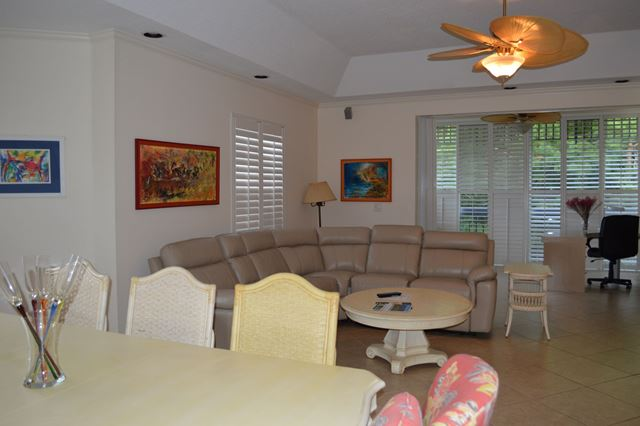 Dining / Living Area - Villa for rent at 3608 54th Drive West, J203, Bradenton, FL 34210 - MLS Number is 360854TH203