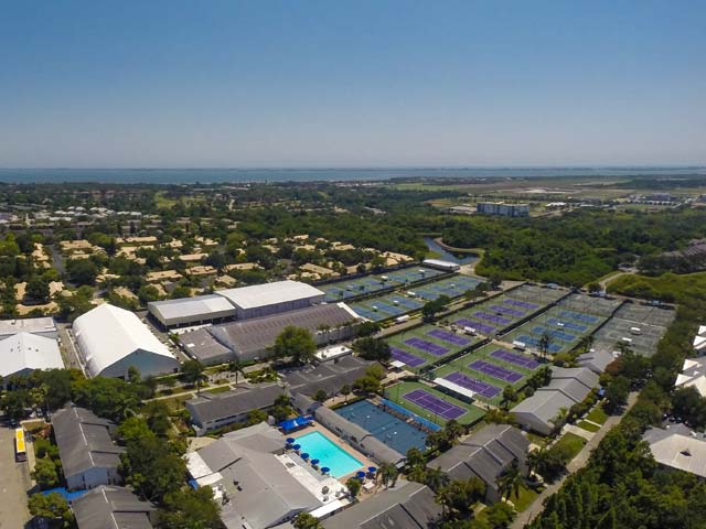 Aerial View of Campus - Villa for rent at 3702 54th Drive West, Q203, Bradenton, FL 34210 - MLS Number is 370254TH203