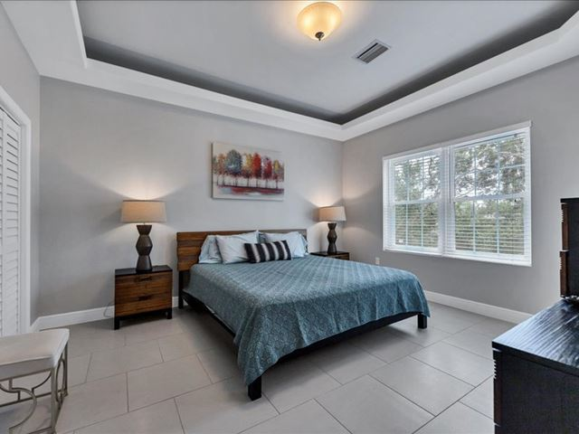Primary Bedroom Suite - Villa for rent at 3702 54th Drive West, Q203, Bradenton, FL 34210 - MLS Number is 370254TH203
