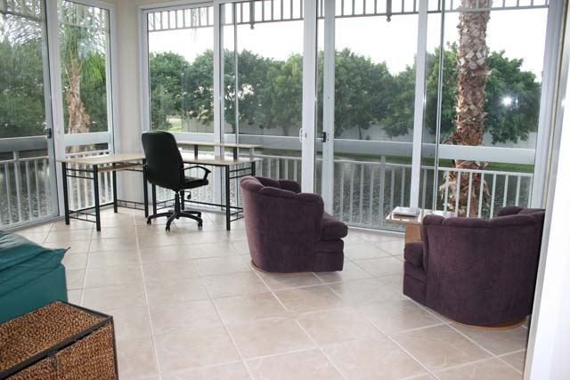 Sun Room / Office Area - Villa for rent at 3705 54th Drive West, N203, Bradenton, FL 34210 - MLS Number is 370554TH203