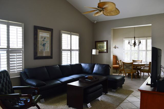 Living Room - Villa for rent at 3706 54th Drive West, P204, Bradenton, FL 34210 - MLS Number is 370654TH204