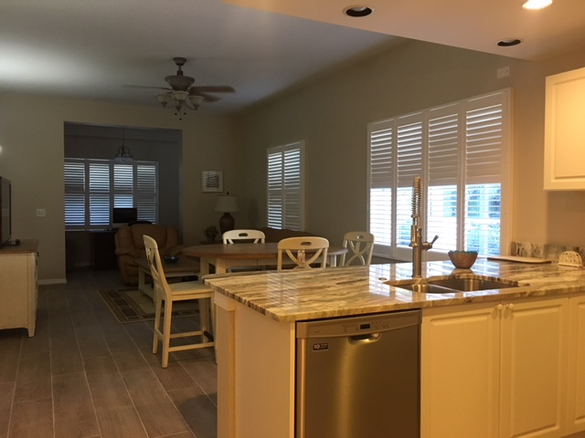 Kitchen - Living Room - Villa for rent at 3803 54th Drive West, O101, Bradenton, FL 34210 - MLS Number is 380354TH101