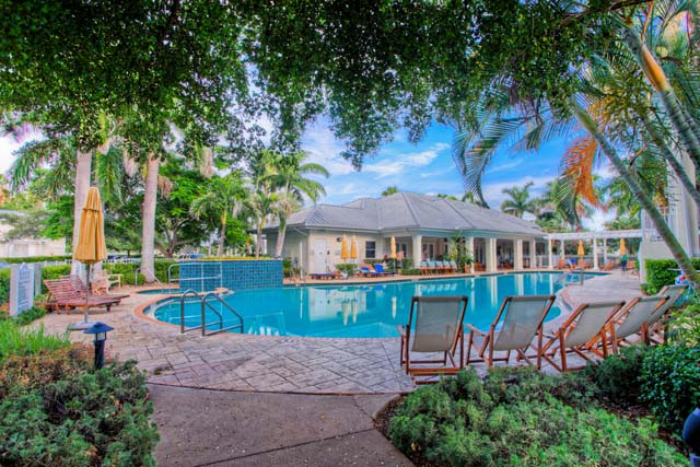 Community Pool - Villa for rent at 3803 54th Drive West, O202, Bradenton, FL 34210 - MLS Number is 380354TH202