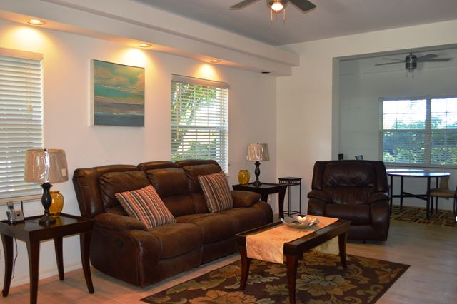 Living Room - Villa for rent at 3803 54th Drive West, O104, Bradenton, FL 34210 - MLS Number is 380354TH104