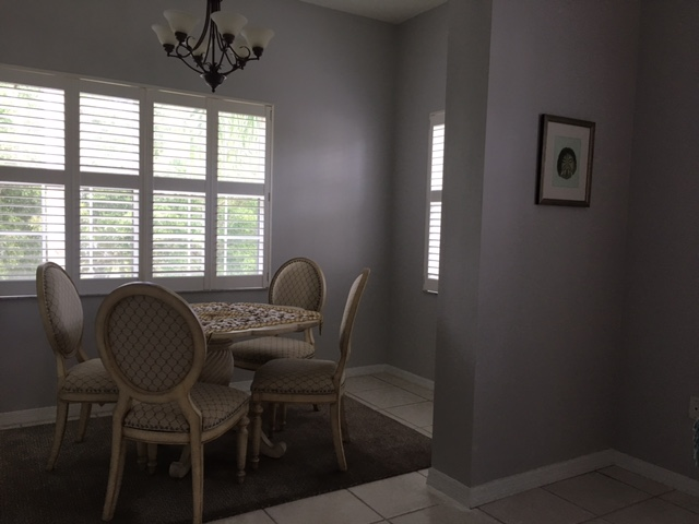 Dining Area - Villa for rent at 3803 54th Drive West, O201, Bradenton, FL 34210 - MLS Number is 380354TH201