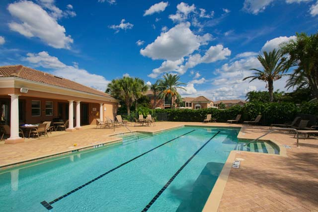 Swimming Pool and Spa - Villa for rent at 5417 46th Court West, Bradenton, FL 34210 - MLS Number is 541746TH102