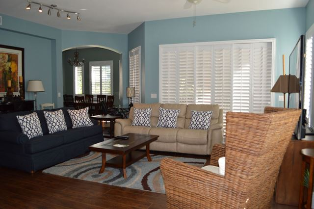 Living Room - Villa for rent at 5417 46th Court West, Bradenton, FL 34210 - MLS Number is 541746TH102