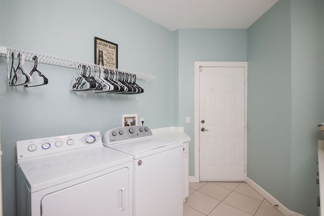 Laundry - Villa for rent at 5417 46th Court West, Bradenton, FL 34210 - MLS Number is 541746TH102