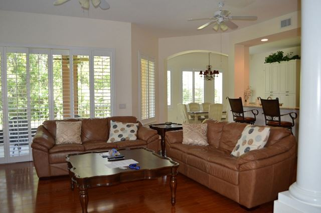 Living Room - Villa for rent at 5425 46th Court West, Bradenton, FL 34210 - MLS Number is 542546TH