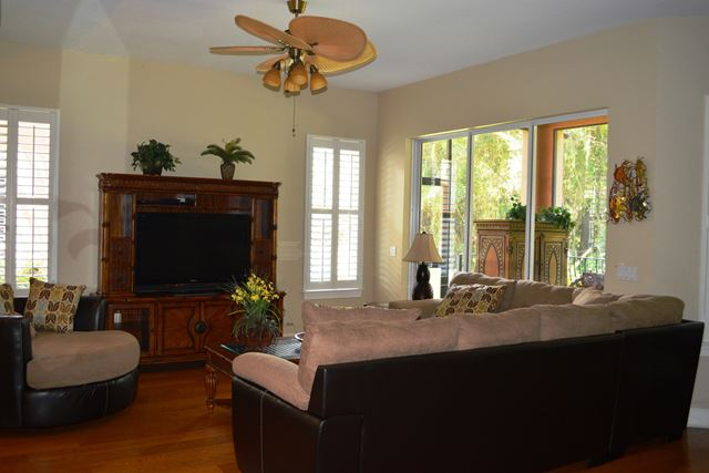 Living Room - Villa for rent at 5441 46th Court West, Bradenton, FL 34210 - MLS Number is 544146TH