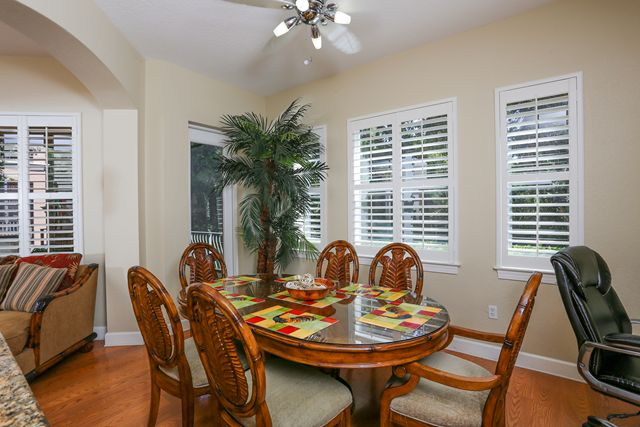 Dining Room - Villa for rent at 5441 46th Court West, Bradenton, FL 34210 - MLS Number is 544146TH