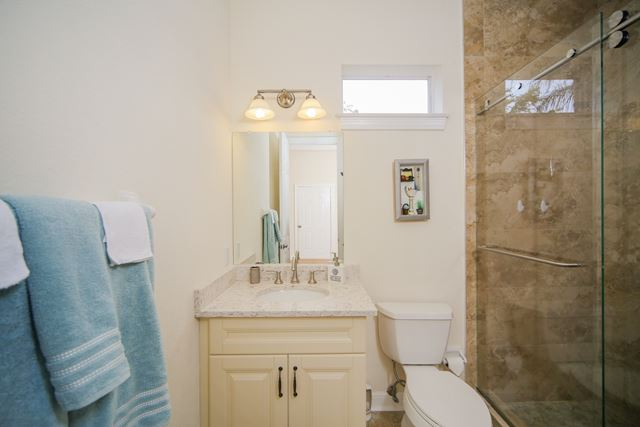 Guest Bathroom - Villa for rent at 5458 46th Court West, #504, Bradenton, FL 34210 - MLS Number is 545846TH504