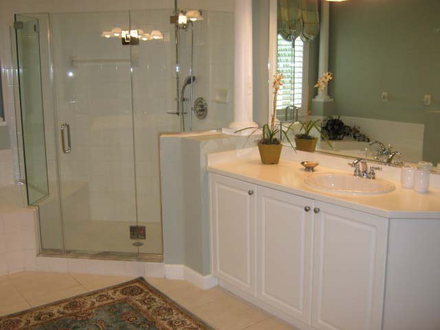Master Bathroom - Villa for rent at 5461 46th Court West, #403, Bradenton, FL 34210 - MLS Number is 546146TH403