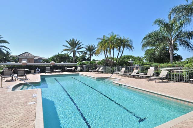 Community Pool - Villa for rent at 5461 46th Court West, #403, Bradenton, FL 34210 - MLS Number is 546146TH403