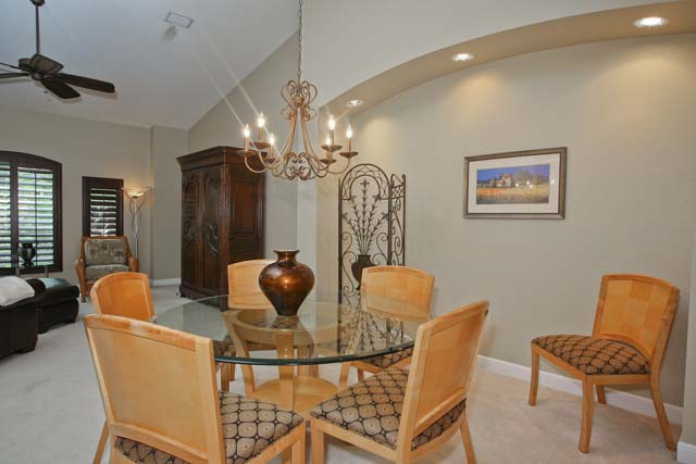 Dining Room - Villa for rent at 5461 46th Court West, #403, Bradenton, FL 34210 - MLS Number is 546146TH403