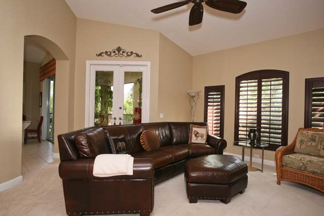 Family Room - Villa for rent at 5461 46th Court West, #403, Bradenton, FL 34210 - MLS Number is 546146TH403