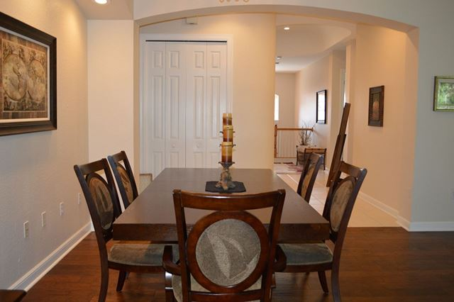 Dining Area - Villa for rent at 5509 46th Ct W, Bradenton, FL 34210 - MLS Number is 550946TH603