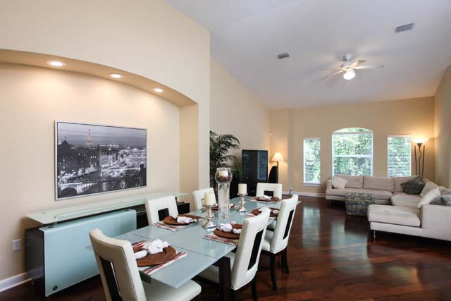 Dining Area - Villa for rent at 5519 46th Court West, #604, Bradenton, FL 34210 - MLS Number is 551946TH604