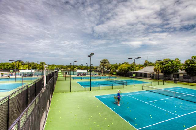Tennis Courts at IMG Academy - Villa for rent at 5519 46th Court West, #604, Bradenton, FL 34210 - MLS Number is 551946TH604