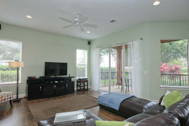 Living Area - Villa for rent at 5530 46th Court West, #901, Bradenton, FL 34210 - MLS Number is 553046TH901