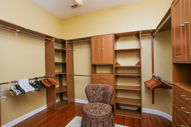Master Bedroom Closet - Villa for rent at 5567 46th Court West, Bradenton, FL 34210 - MLS Number is 556746TH
