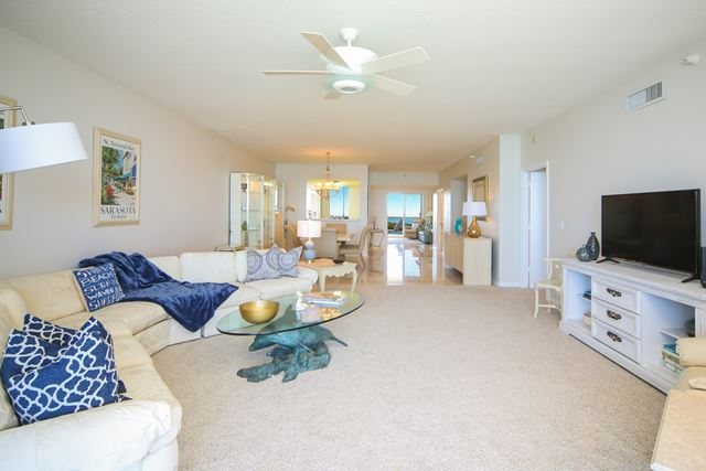 Living Room Combo - Condo for rent at 1800 Benjamin Franklin Dr, #A904, Sarasota, FL 34236 - MLS Number is 1800BENFA904