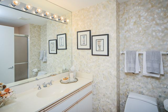 Guest Bathroom #2 - Condo for rent at 1800 Benjamin Franklin Dr, #A904, Sarasota, FL 34236 - MLS Number is 1800BENFA904