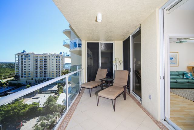 Balcony - Condo for rent at 1800 Benjamin Franklin Dr, #A904, Sarasota, FL 34236 - MLS Number is 1800BENFA904