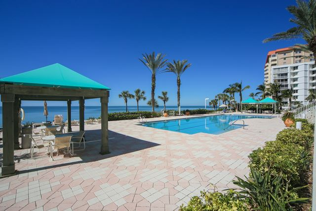 Community Pool - Condo for rent at 1800 Benjamin Franklin Dr, #A904, Sarasota, FL 34236 - MLS Number is 1800BENFA904