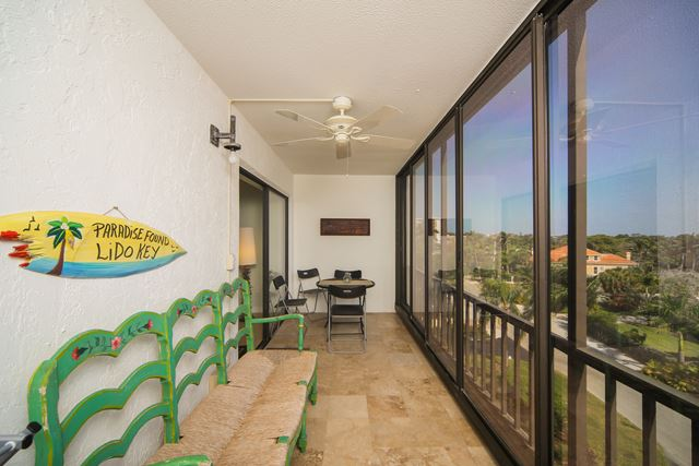 Balcony - Condo for rent at 350 S Polk Dr, Unit #504, Sarasota, FL 34236 - MLS Number is 350SPOL504