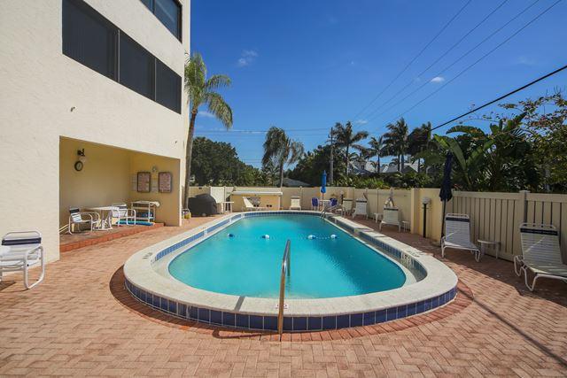 Community Pool - Condo for rent at 350 S Polk Dr, Unit #504, Sarasota, FL 34236 - MLS Number is 350SPOL504