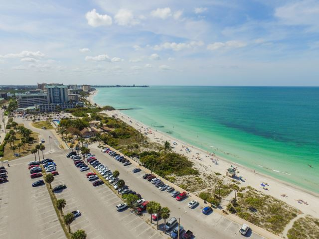 Aerial View - Condo for rent at 350 S Polk Dr, Unit #504, Sarasota, FL 34236 - MLS Number is 350SPOL504
