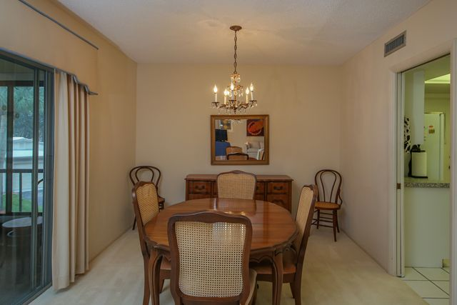 Dining Room - Condo for rent at 225 Hourglass Way, Unit #203, Sarasota, FL 34242 - MLS Number is 225HOUR203